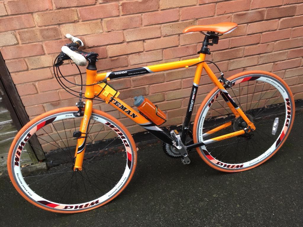 Teman Pro-bike 3.0 hybrid racing bike