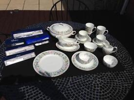 Aynsley Tea and Dinner Service