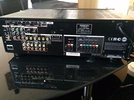 Onkyo HHT-R390 Home theatre system and Media Receiver with speakers