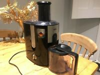Braun juicer in perfect condition - barely used