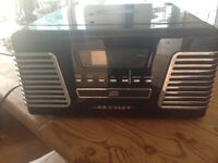 Crosley radio turntable cd player