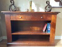Bookcase/console table