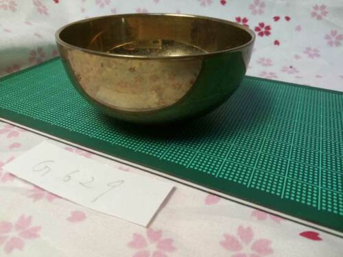 """2.953"""" Japanese Vintage Buddhist Bell Gong Rin G629 Good Tone"""