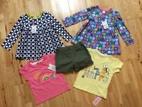 BNWT Girls Clothes, Age 12-18 months and 18-24 months, Shorts / T-shirts /Dress, Mini Club, NEXT etc
