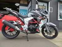 Brand New 125cc Lexmoto Venom SE - £1899 OTR. MP3 Player, Learner Legal, Finance subject to status