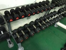Two tier Dumbbell Rack. Holds 20 dumbbells (without dumbbells).