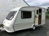 Elddis Whirlwind 2 Berth Caravan , with awning and accessories- ready to go