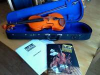 The Stentor Acoustic Violin + Book