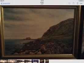 Coastal Scene Painting