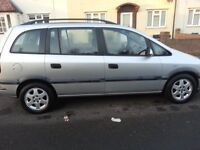 QUICK SALE - VAUXHALL OPEL ZAFIRA - 7 SEATER DIESEL - £600 ONO
