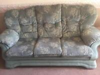 Settee 3 seater plus chair