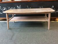 Retro Wooden Coffee Table - CHARITY