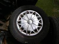 Ford Transit 15 wheels with as new tyres