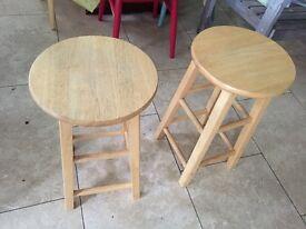 2 x kitchen stools