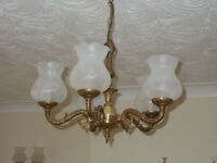 5 Arm Ceiling Light and 2 Wall Lights REDUCED !!!!