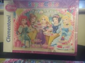 Jigsaw Disney princess