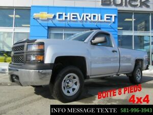 2015 CHEVROLET SILVERADO 1500 4WD REGULAR CAB LONG BOX 4x4 BOITE