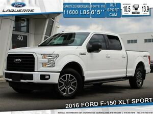 2016 Ford F-150 XLT SPORT**4X4*CAMERA*BLUETOOTH*A/C**