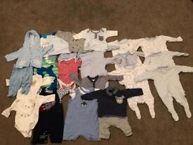 New born boys clothes - 26 items