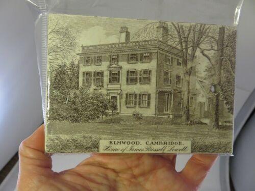 1903 TILE CALENDAR ELMWOOD CAMBRIDGE MA. HOME OF JAMES RUSSEL LOWELL