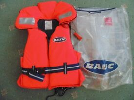 Baltic Lifejacket 100N size child L / junior as new condition 2 available
