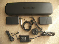 Shure PG1288 / PG 1288 - Dual Combo Guitar / Bass Wireless System or Microphone.