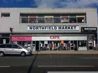 Northfield indoor Market opposite Aldi retail space available