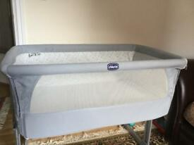 Chicco next2me crib + thicker mattress