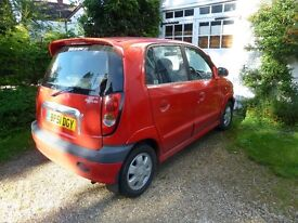 Hyundai Amica Mo Mot due to Airbag Warning light, otherwise good condition
