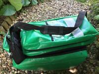 Green wipeable medical holdall