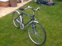 Raleigh bicycle for sale with stormed archer 3 speed