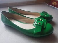Ravel green pumps,size 6