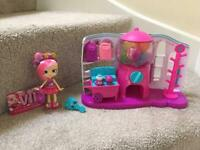 Shopkins Sweet Spot set with Bubbleisha doll - REDUCED!