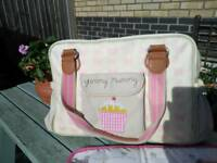 Yummy mummy changing bag and accessories