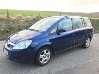 2008 Vauxhall Zafira 1.6 7 Seater - FULL YEARS MOT -Full Service History (T/belt done) Alloys - A/C