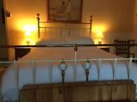 Beautiful old brass bed