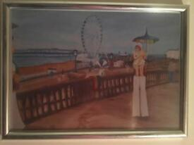 Brighton themed painting