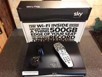 Sky HD box / 500GB SATA HDD