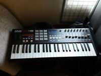 AKAI MPK49 USB/MIDI Keyboard Controller (49 Keys)