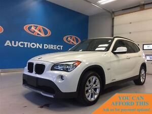 2012 BMW X1 xDrive28i (A8), AWD, FINANCE NOW!!
