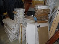 JOB LOT OF KITCHEN CUPBOARD DOORS/DRAWERS/PANELS/VARIOUS KITCHEN PARTS