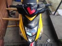 Tgb R50x racing moped