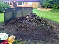 Professional Tree Stump Removal. Stump Grinding Service. Narrow Access.
