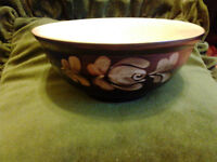 Denby Pottery collectable bowl - Bakewell Pattern - 1980s
