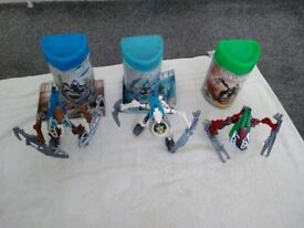set of 3 bionicles
