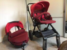 JANE Matrix light 2 pram / car seat combo