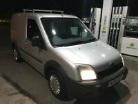 Ford Connect 12 months mot! Silver with slide door/ electrics