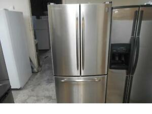 FRIGO GENERAL ELECTRIC EN INOX / STAINLESS GENERAL ELECTRIC FRIDGE