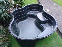 Brand new Blagdon Damselfly 500 preformed pond with waterfall feature