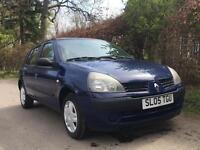 **RENAULT CLIO 1.2 2005**MOT EXPIRES APRIL 2018** 1 OWNER FROM NEW**